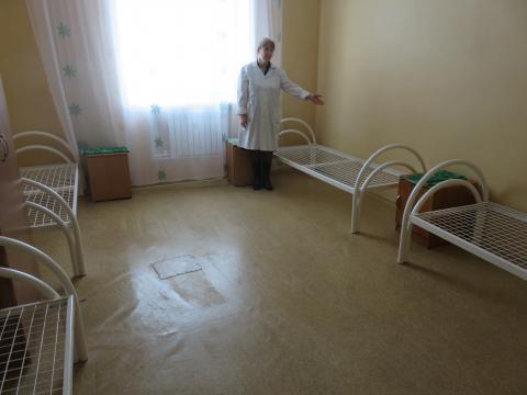 Благотворительность - покупка медицинских кроватей