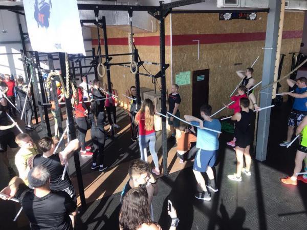 Открытая тренировка-семинар